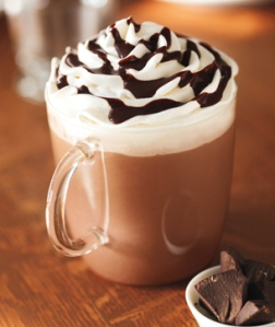 starbucks hot chocolate